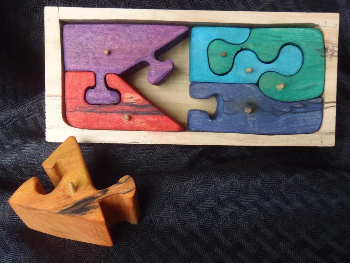 6 piece puzzle box
