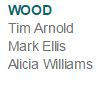 My name listed under new artist in wood category