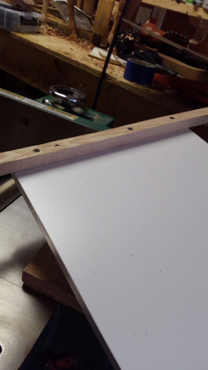 how to set up jointer to plane one face when board is wider than the jointer