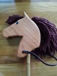 small hand made hobby horse